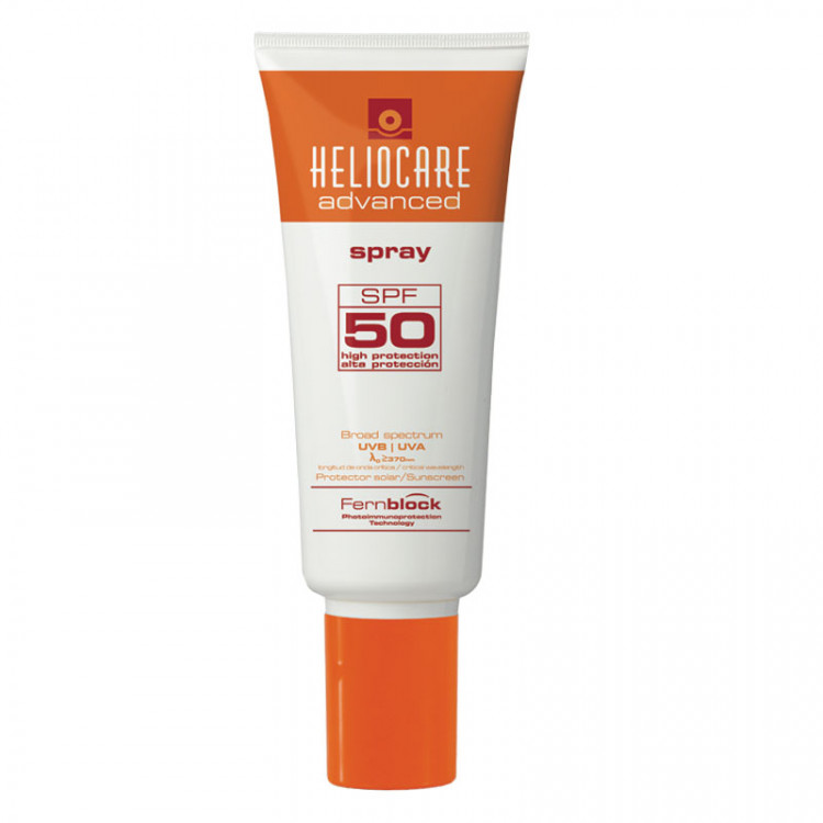 HELIOCARE-Advanced Spray SPF 50 - Солнцезащитный спрей СЗФ50 (для тела), 200мл, (Хелиокеа)